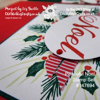 Peaceful Noel Wreath – Shaded Spruce and Poppy Parade