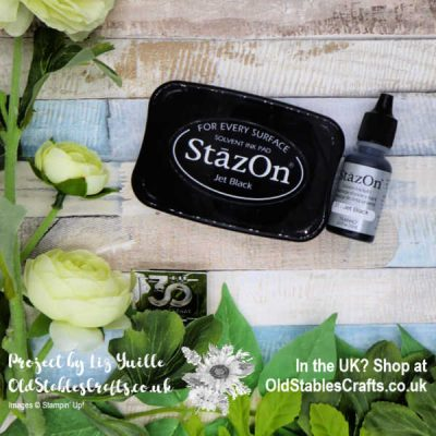 Stazon Ink from Stampin' Up! – How To