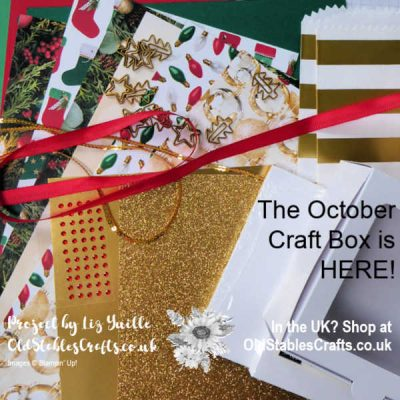 October Craft Box is HERE!!
