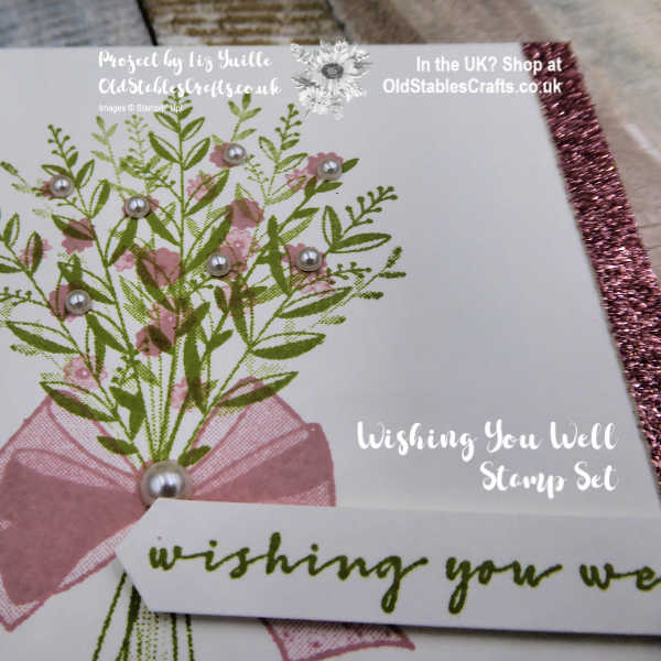 Inspire Create Challenge Wishing You Well card