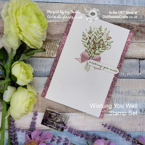 Inspire Create Challenge Wishing You Well card