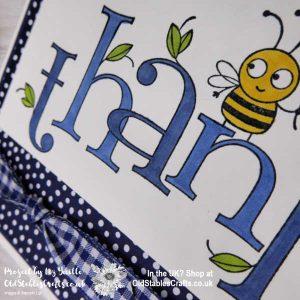 Bee Thankful Navy