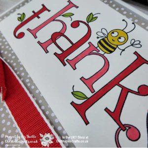 Bee Thankful Poppy