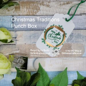 Christmas Traditions Punch Box Quick Tag