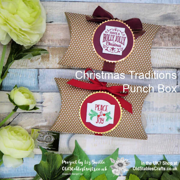 Christmas Traditions Punch Box