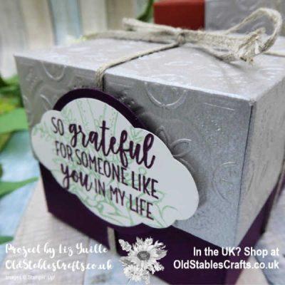 Country Home Tin Tile Box