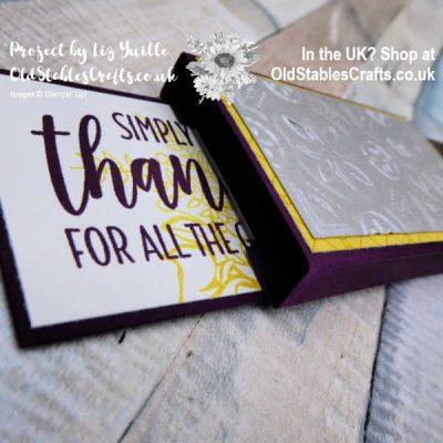 Slider Chocolate Box – September Thank You Gift