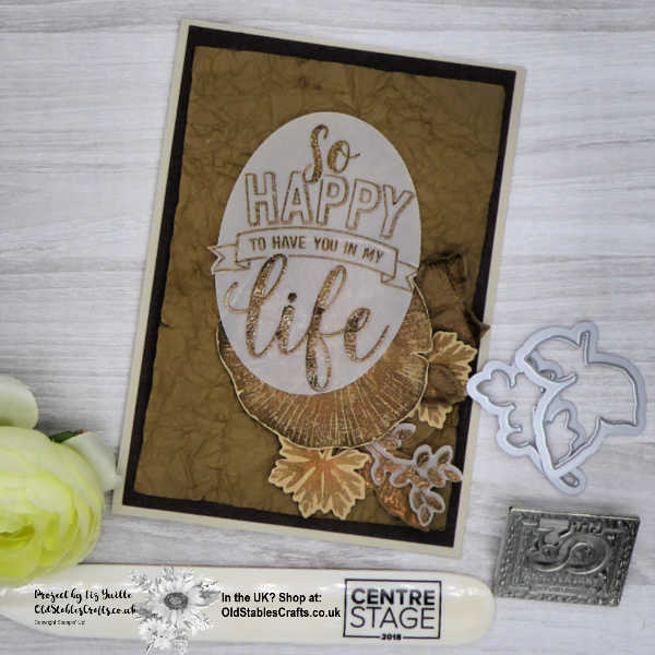 Rooted in Nature Amazing Life Anniversary Card