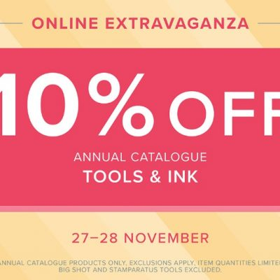 Online Extravaganza Continues with Tools and Inks