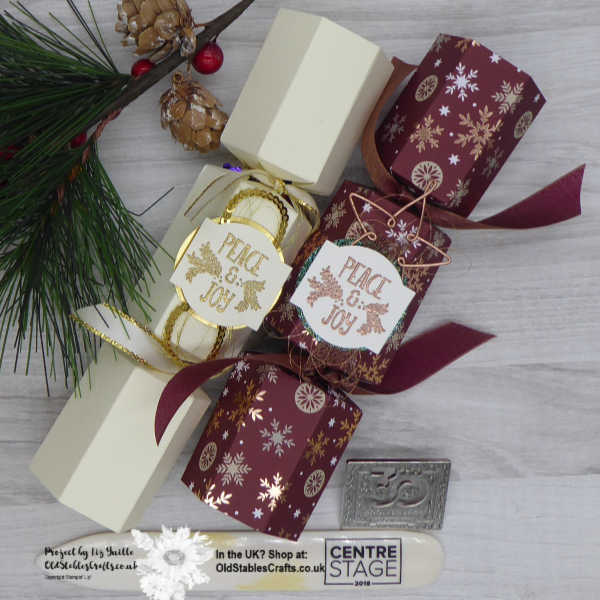 Joyous Noel and Very Vanilla Crackers