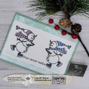 Spirited Snowmen Simple Stamping Really Stepped up