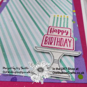 Simple stamping Saturday Piece of Cake Casual Close Up