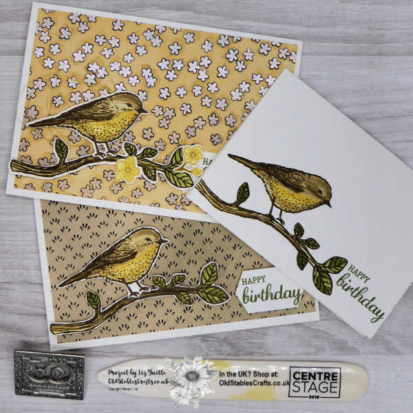Best Birds #simplestamping saturday