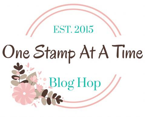 One Stamp At a Time Blog Hop Logo