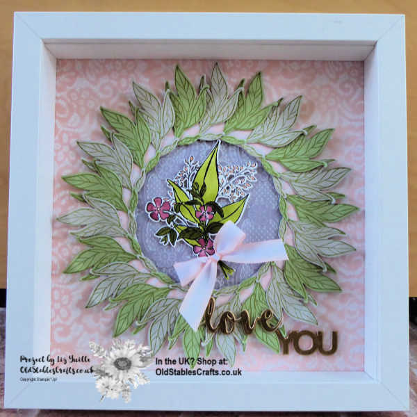 Floral Romance Home Decor Frame