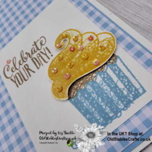 Simple Stamping Saturday Hello Cupcake Casual Card