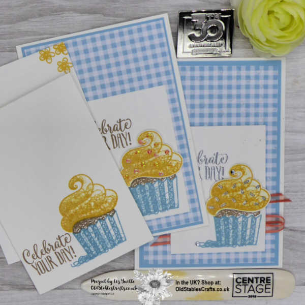 Simple Stamping Saturday Hello Cupcake
