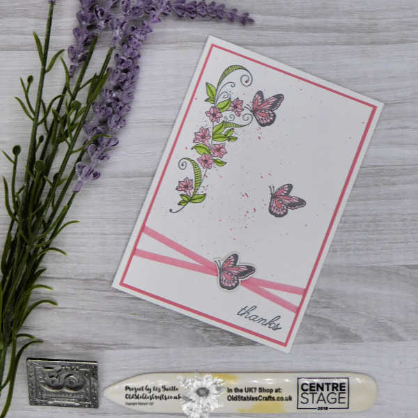 Beauty Abounds Clean and Simple Card Plus