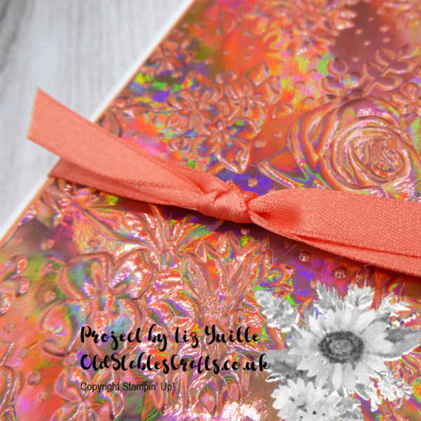 Country Floral Embossing Folder