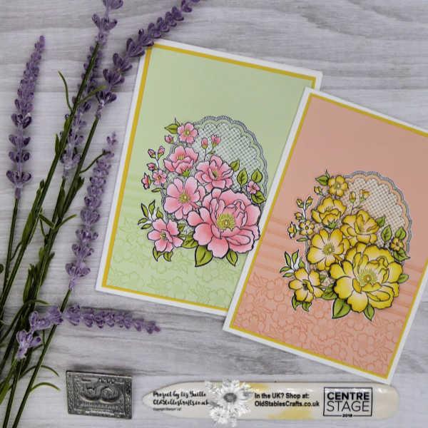 Lovely Lattice Decoupage Card