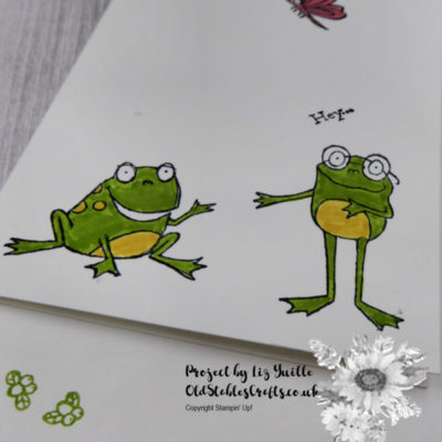 #SimpleStamping Saturday – So Hoppy Together