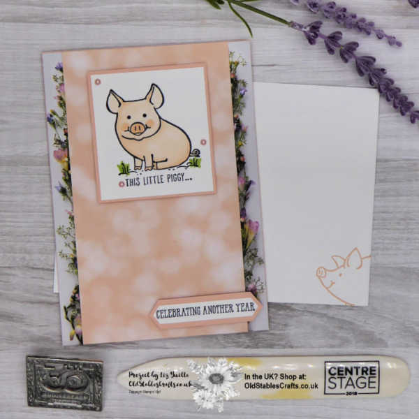 The Year of the Pig Card