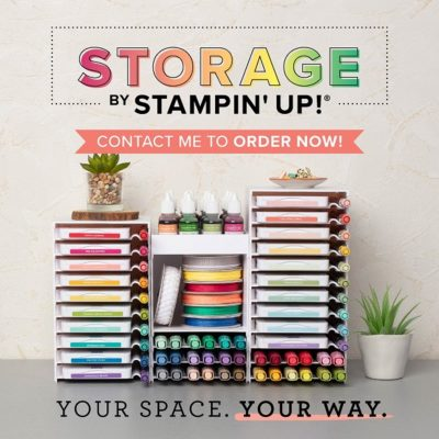 Storage by Stampin' Up! is BACK IN STOCK!!