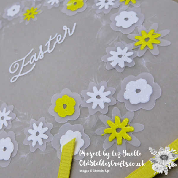Easter Vellum Wreath Pineapple Punch