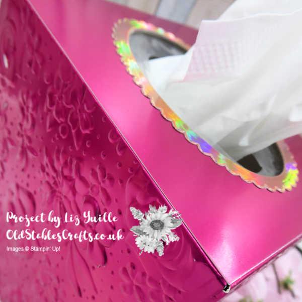 Foil Tissue Box