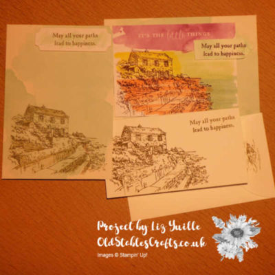 #Simplestamping Saturday – By the Bay Emergency Crafting Kit
