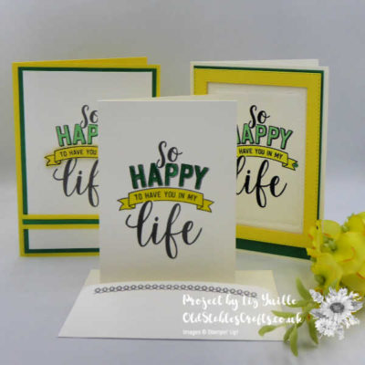 #Simple Stamping Saturday – Amazing Life