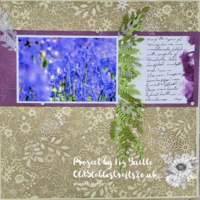 Scrapbooking Global April Blog Hop – Spring and Flowers