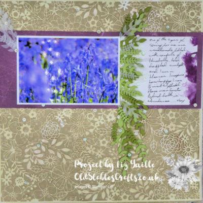 Scrapbooking Global April Blog Hop – Spring and Flowers