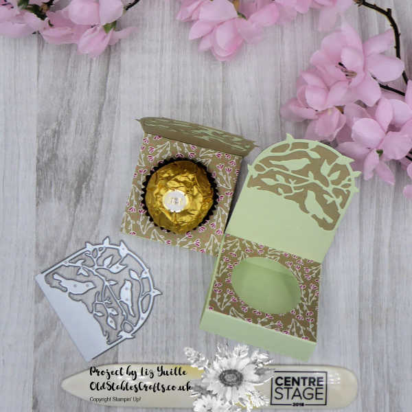 Ferrero Rocher Botanical Tags Treat Holder