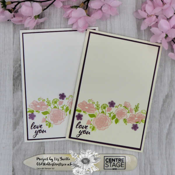 Forever Lovely Clean and Simple Card