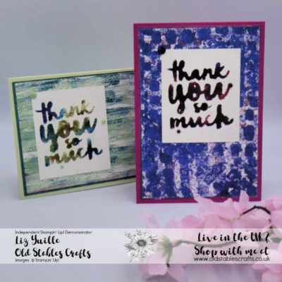 Have Fun Stamping With Brusho – Tips