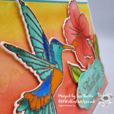 Humming Along Watercolour – Soon to be Gone!