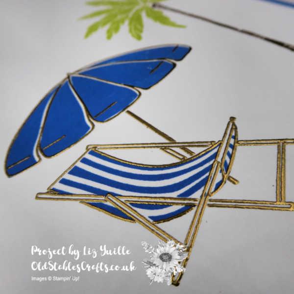 Beach Happy Thank You Card