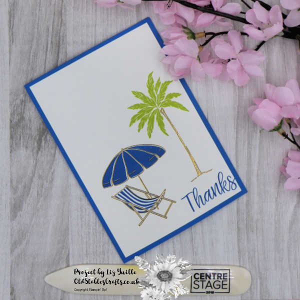 Beach Happy Thank You Card