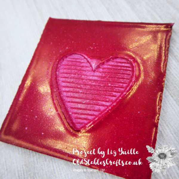 Top Tip Tuesday Heat Embossed Seals