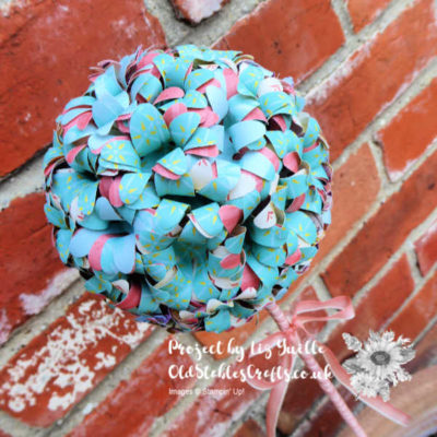 Home Decor SU Style April Blog Hop – Daisy Punch Topiary
