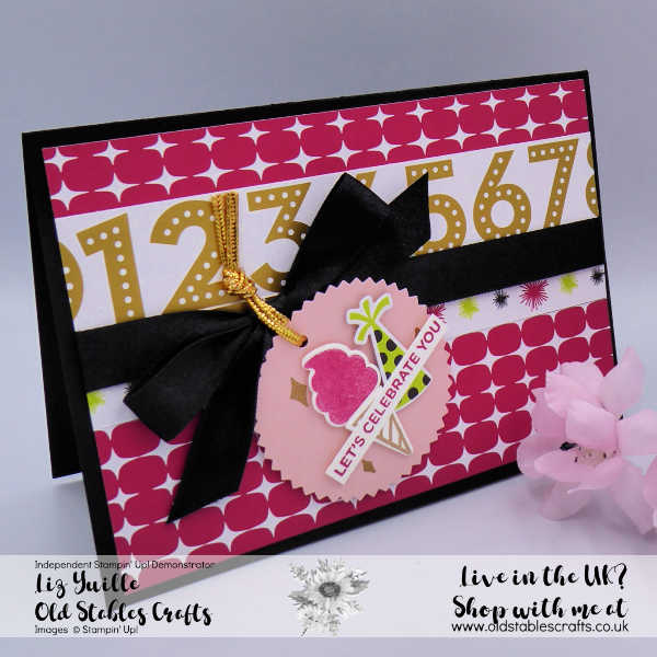 Broadway Birthday Cased Card