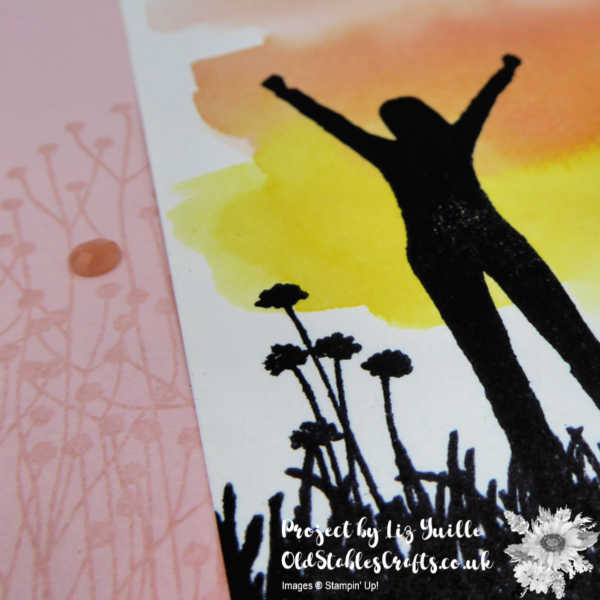 Enjoy Life Watercolour Wash