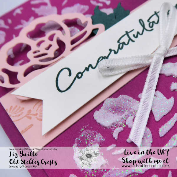 Floral Phrases and Embossing Paste