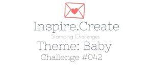 Inspire Create Challenge Baby Theme