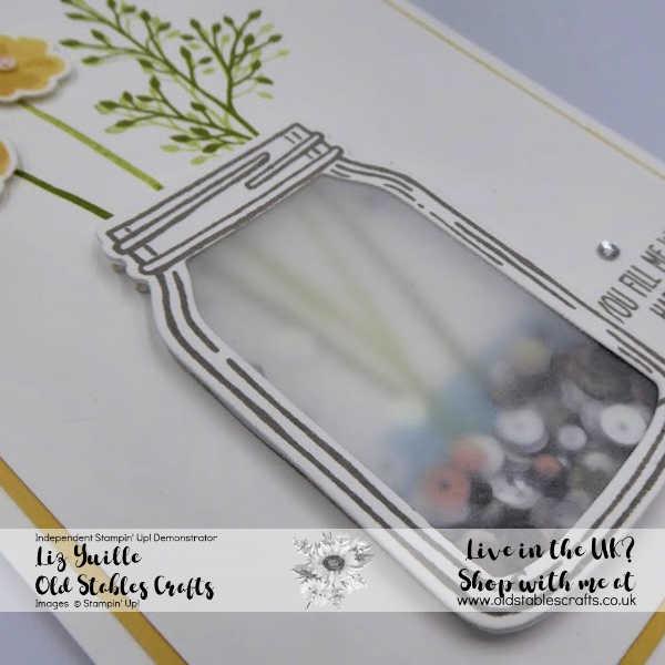 Jar of Love avid shaker card