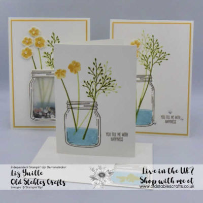 #Simplestamping Saturday – Jar of Love Waves Goodbye