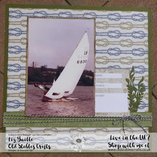 Masculine Scrapbook - Come Sail Away Suite