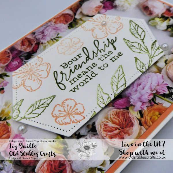 Petal Promenade Gift Box card