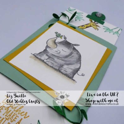 Animal Outing Father's Day Slider Card